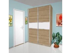 Šatní skříň s posuvnými dveřmi Beta 41