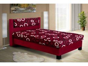 Čalouněná postel s úložným prostorem Nikol 140  + OBRAZ ZDARMA