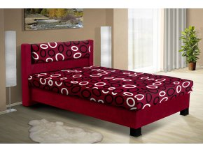 Čalouněná postel s úložným prostorem Nikol 140