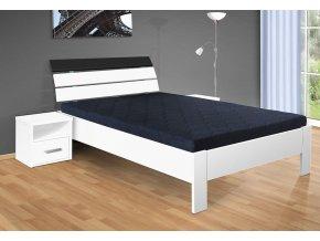 Dřevěná postel 140x200 cm Darina bílá