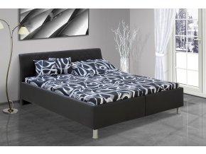 Manželská postel s úložným prostorem Julius