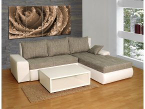 Luxusní sedací souprava Wiena + konferenční stolek  + obraz zdarma