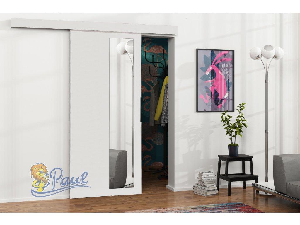 Drzwi przesuwne 80 MALIBU M 3 białe