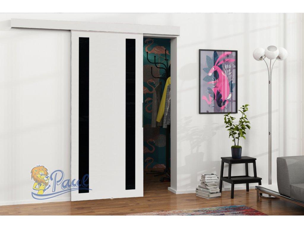 Drzwi przesuwne 80 MALIBU M 6 białe