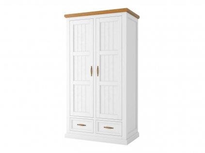pol pl Szafa Galia 14 do salonu 2 drzwiowa biala z szufladami Marsylia 11554 1