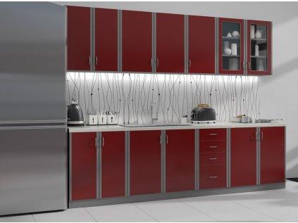 Kuchyň Elma Bordo 1