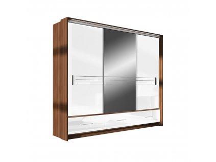 Amsterdam 250 bílá zrcadlo