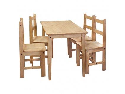 Stůl + 4 židle CORONA 2