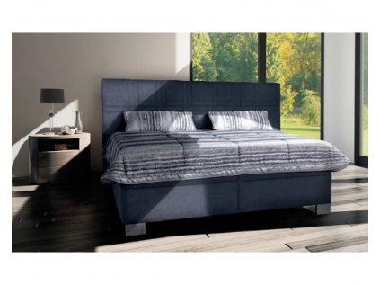 calounena postel s uloznym prostorem venus 160x200 seda (1)
