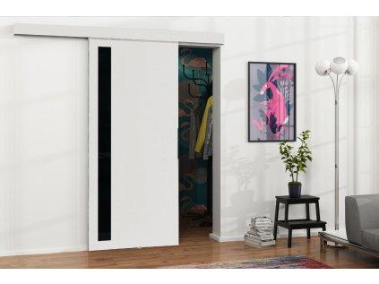 Drzwi przesuwne 80 MALIBU M 5 białe