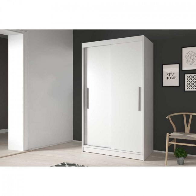 Idzczak Šatní skříň Neomi 04 Barva: Bílá, Dveře: Bílé