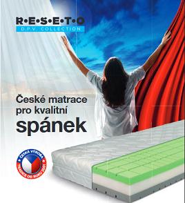 akční leták Řešeto matrace