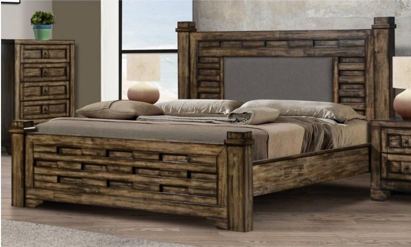 postele dřevěné, nebo lamino