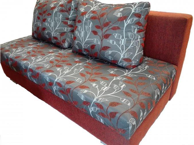Luxusní rozkládací pohovka Alan k trvalému spaní  pohovka na každodenní spaní s výškou lůžka 51cm