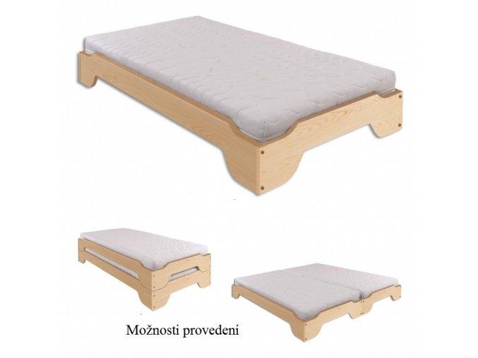 KL-138 postel šířka 90 cm 1 ks