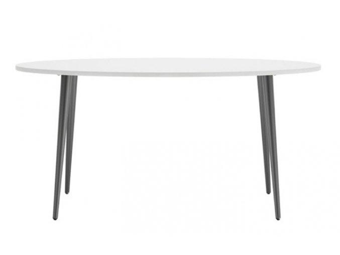 Jídelní stůl Retro 397 bílá/černá