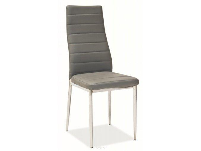 Jídelní židle H-261 šedá