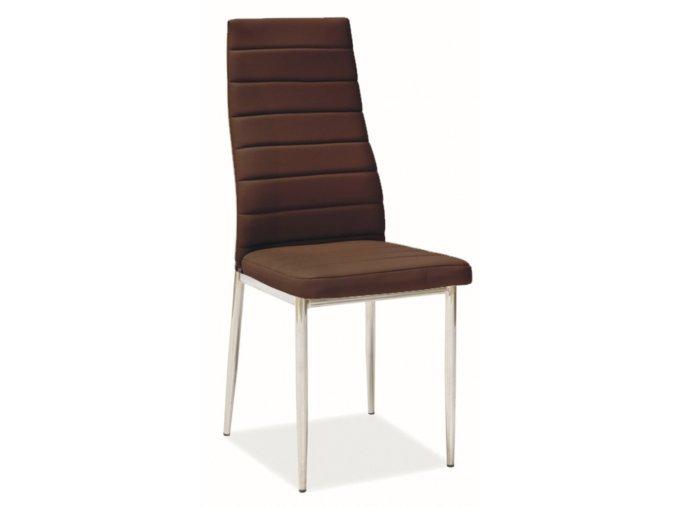 Jídelní židle H-261 hnědá