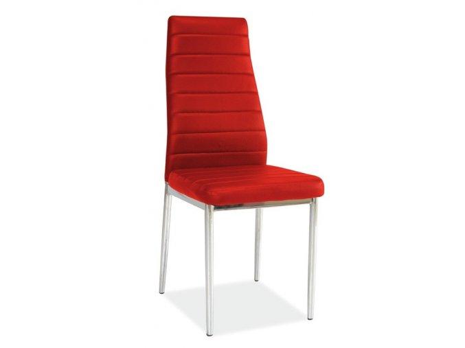 Jídelní židle H-261 červená