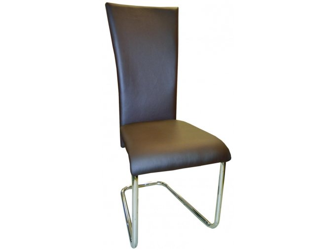 Jídelní židle F-245 hnědá