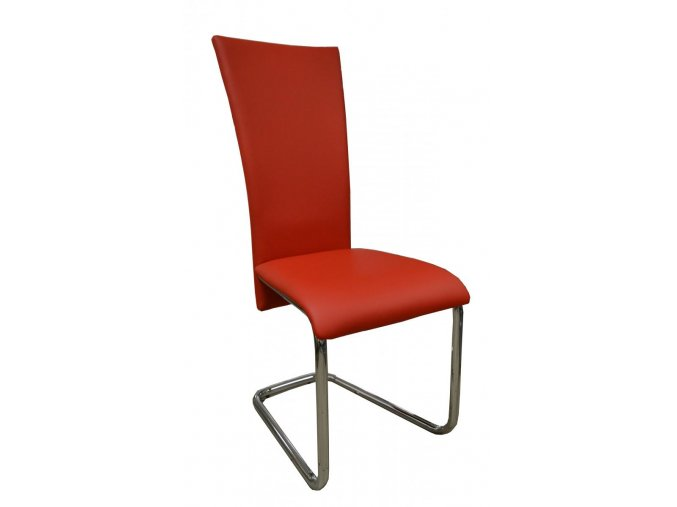 Jídelní židle F-245 červená