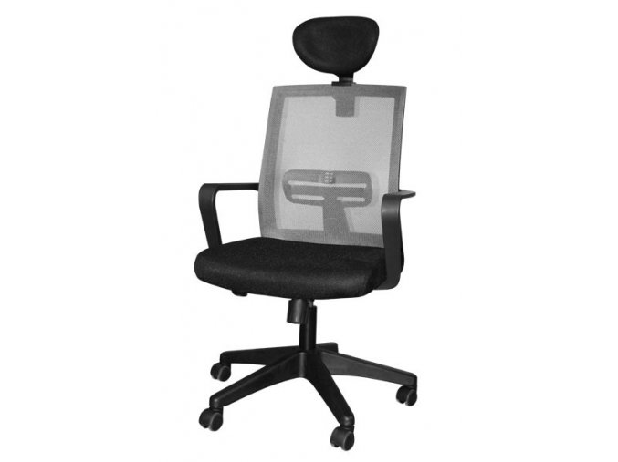 kancelářská židle zk78 šedá