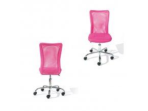 Kancelářská židle BONNIE růžová