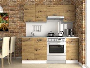 Kuchyňská linka Luigi 120/180 dub artisan