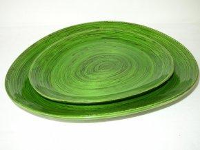 Bambusová miska zelená
