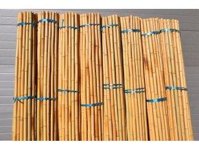 Bambusová tyč průměr 3-4 cm, délka 4 metry