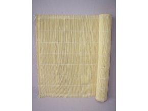 Rohož bambusová na stěnu 60x300 cm typ 2