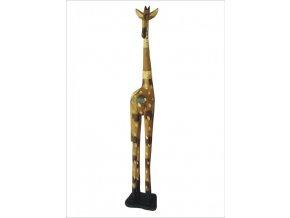 Žirafa afrika hnědá 1 m