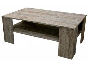Konferenční stolek Cher bílá borovice
