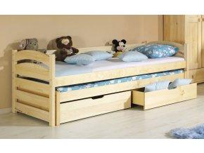Dětská postel TONČA vysouvací