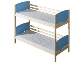 Dětská postel TRIO poschoďová