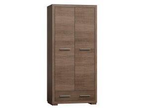 Šatní skříň 2-dveřová VEGAS V-37 výběr barev