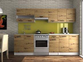 Kuchyňská linka Luigi III 200/260 dub artisan
