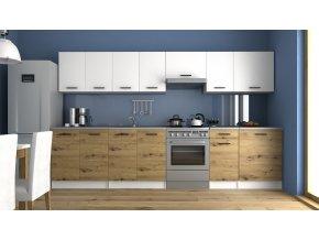 Kuchyňská linka Luigi 260/320 bílá/artisan