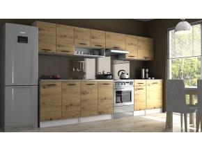 Kuchyňská linka Luigi II 260/320 dub artisan