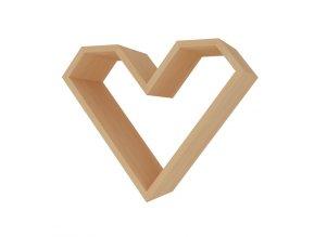 Police ve tvaru srdce ARIZA barva buk