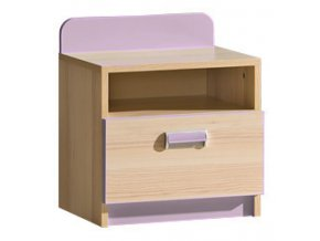 LIMO L12 noční stolek fialový