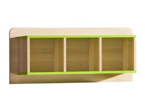 LIMO L9 závěsný regál zelený