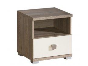 Noční stolek VERTO V9 nelson/magnolia