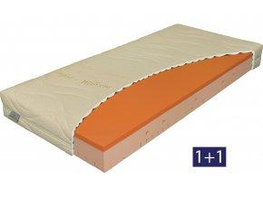 matrace Viscostar 20 1+1  Akční nabídka 1 + 1, výška 20 cm