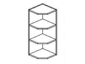 ROG horní otevřený roh NORA de LUX hruška
