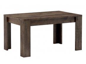 Jídelní stůl rozkládací 160 INDIANAPOLIS jasan tmavý
