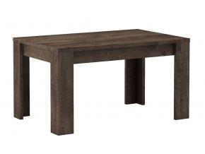 Jídelní stůl rozkládací KORA 120x80 jasan tmavý
