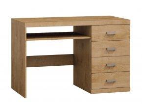 Pracovní stůl NATURAL N16 dub ribbeck