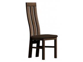 Čalouněná židle PARIS tmavý jasan/Victoria 36