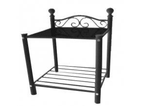 Noční stolek Dora černý